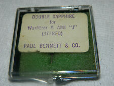 "NOS AMI WURLITZER  ""J"" DOUBLE SAPPHIRE Needle Paul Bennet & Co  Vinyl Jukebox"