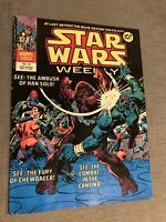 STAR WARS WEEKLY UK MARVEL COMIC (NO.15 ISSUE) FROM MAY 17TH 1978