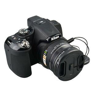 62mm Lens Adapter UV Filter Cap & holder Fits Nikon Coolpix P520 P530 P510 P540
