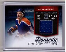 GLENN ANDERSON 14/15 Leaf ITG In The Game Used Dynasty Collection Jersey SP GA1