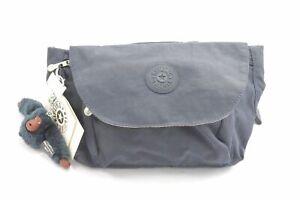 Kipling AC8248 4TB Arvin True Blue Nylon Convertible Cross Body Belt Bag