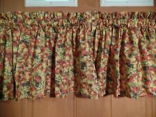 Orange,Yellow, Green Apples, Pears, & Grapes, Handmade Kitchen VALANCES