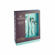 Viners Style 16 Piece 18/10 Stainless Steel Cutlery Set - 50 Year Guarantee