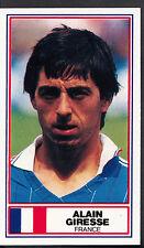 Rothmans Football Card - International Stars - Alain Giresse - France