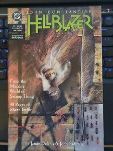 HELLBLAZER #1 KEY 1ST PAPA MIDNITE 1988 1st John Constantine Ongoing series.  NM
