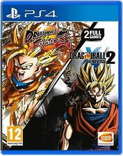 Dragon Ball: FighterZ + Dragon Ball: Xenoverse 2 (PS4) BRAND NEW SEALED.