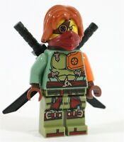 LEGO NINJAGO RONIN HERO MINIFIGURE NINJA KATANA SWORDS - NEW GENUINE