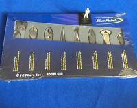 Blue Point 8 piece Combination Plier Set BDGPL800 - NEW - Adjustable Needle Bent