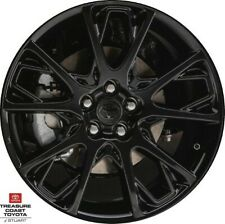 New Oem Toyota Corolla Matrix Celica 17' Alloy Black Web Wheel 1 Pc & Cnter Cap