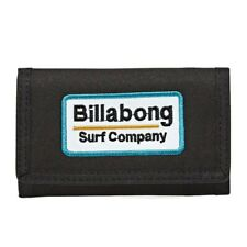 BILLABONG MENS WALLET NEW WALLED LITE TRIFOLD BLACK CREDIT CARD MONEY PUSE