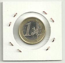 FINLANDIA 1 EURO 2001 (EXCESO DE METAL EN FECHA) ERROR COIN