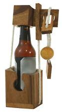 MINI Flaschentresor für kleine Flaschen Flaschensafe Break the Bottle Holzpuzzle