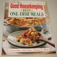Good Housekeeping Best One-Dish Meals: Casseroles Stir-Fries Pizzas & More HC DJ