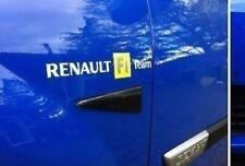 Renault Megane R26 230 F1 Team côté remplacement deux autocollants stickers CLIO Sport