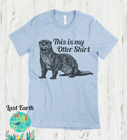 450 This is my Otter Tank Top funny animal lover rodent cute vintage retro new