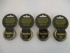 4 JARS VASELINE LIP THERAPY GOLD DUST LIMITED EDITION - 0.6 oz EACH - EL 135