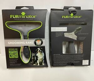 FURminator Grooming Rake for Dog/Cat Black, Grey   Free Shipping