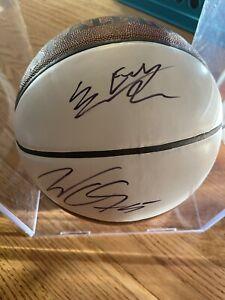 SAM DEKKER Cayley-Stein Mudiay Multi Signed NBA Spalding Basketball AUTO