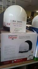 NEW PA2000 White Winegard Pathway X1 Portable Satellite TV Antenna For Dish