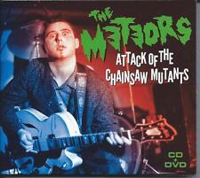 The Meteors - Attack Of The Chainsaw Mutants (CD+DVD) NEW/SEALED