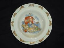 "BUNNYKINS  ROYAL DOULTON CHINA 7 1/2 "" BOWL DESSERT  FRUIT SAUCE ALBION RIM"