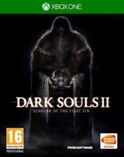 Dark Souls II: estudioso del primer juego sin (Xbox One) * muy Buen Estado *