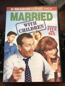Married With Children Series Complete Season 5-6 (Five & Six) 4-Disc DVD Set