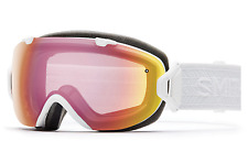 NEW Smith I/OS Goggles-White Eclipse-Photochromic Red Sensor-SAME DAY SHIPPING!