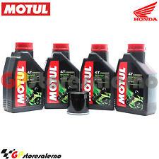 KIT TAGLIANDO OLIO + FILTRO MOTUL 5000 10W40 4L HONDA 600 CB F HORNET 2001