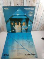 """ABBA """"Voulez-Vous"""" vinyl LP Epic EPC 86086 UK 1979 Inner VG+ / EX CON"""