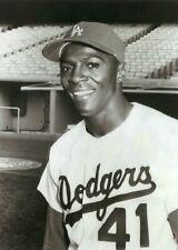 Lou Johnson--Los Angeles Dodgers--5 x 7 Photo