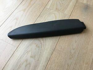 AUDI A3 8P 3DR REAR LEFT SIDE DOOR CARD ARMREST, BLACK 8P3867373A