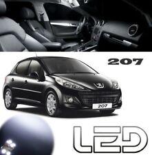 Peugeot 207 Satz 9 LED-Lampen weiß Innenraum Deckenleuchte Nachtlichter