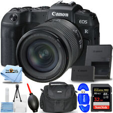 Canon EOS RP Mirrorless Digital Camera with 24-105mm f/4-7.1 Lens + 32GB Bundle