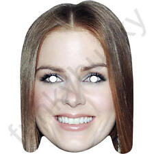 Isla Fisher Australian Celebrity Card Face Mask. All Our Masks Are Pre-Cut!