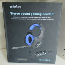 Badasheng BDS-939MG Stereo Sound Gaming Headset (XBox360/PS3/PS4 etc) - New/Boxe