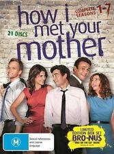 How I Met Your Mother : Season 1-7 (DVD, 2013, 21-Disc Set)