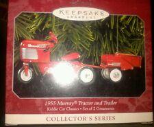Hallmark 1955 Murray Tractor & Trailer Christmas Ornament (Kiddie Car Classics)