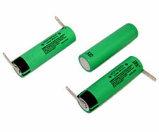 2Pcs Bike Light Rechargeable Battery Panasonic Li-ion NCR 18650 3.6V 3100mAh US