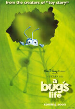 A BUG'S LIFE MOVIE POSTER 2 Sided ORIGINAL 27x40 KEVIN SPACEY