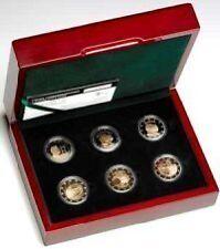 Luxemburg     6 X 2 Commemorative Coins 2004-2008  RARE   OP VOORRAAD / IN STOCK