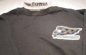 Washington Capitals Youth Sweat Shirt XL Turtleneck  NHL Majestic 50/50 Vintage