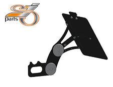 Harley Davidson Sportster Support plaque d'immatriculation latérale réglable de