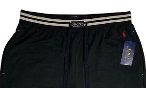 Men's POLO RALPH LAUREN Black Sleepwear Lounge Pant L Large NWT NEW SoFt!