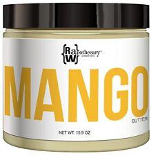 Mantequilla De Mango 100% Todo Natural De Grado Superior Sin Refinar Ni Aditivos