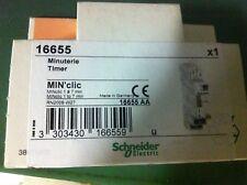 Minuterie modulaire 1 à 7 minutes 16A Schneider électric 16655 NEUF