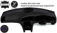 PURPLE STITCH TOP DASH DASHBOARD REAL LEATHER COVER FITS SAAB 93 9-3 2003-2012