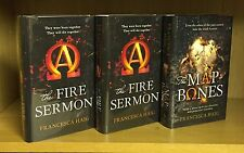 Fire Sermon x 2 & Map Of Bones - Francesca Haig **Signed & Numbered 141/250**