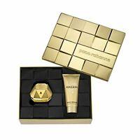 Paco Rabanne Lady Million Eau De Perfum Spray 50 ml + Sensual Body Lotion 100 ml