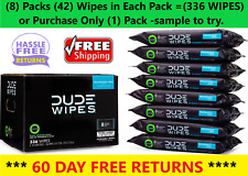 ✔️DUDE Wipes, Flushable Wipes, Extra Large and Fragrance Free Wipes (336 ct.)